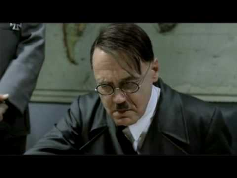 Hitler's reaction to The Registry closing