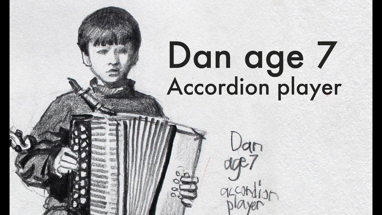 Dan Age 7 Accordion Player