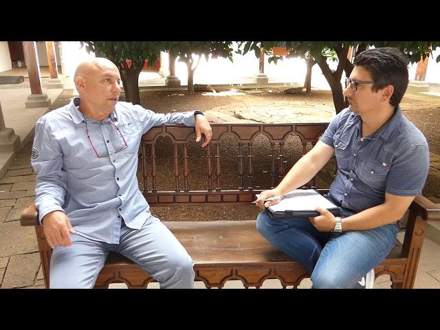 Entrevista al candidato al Cabildo de La Palma de Pueblos de Benahoare.