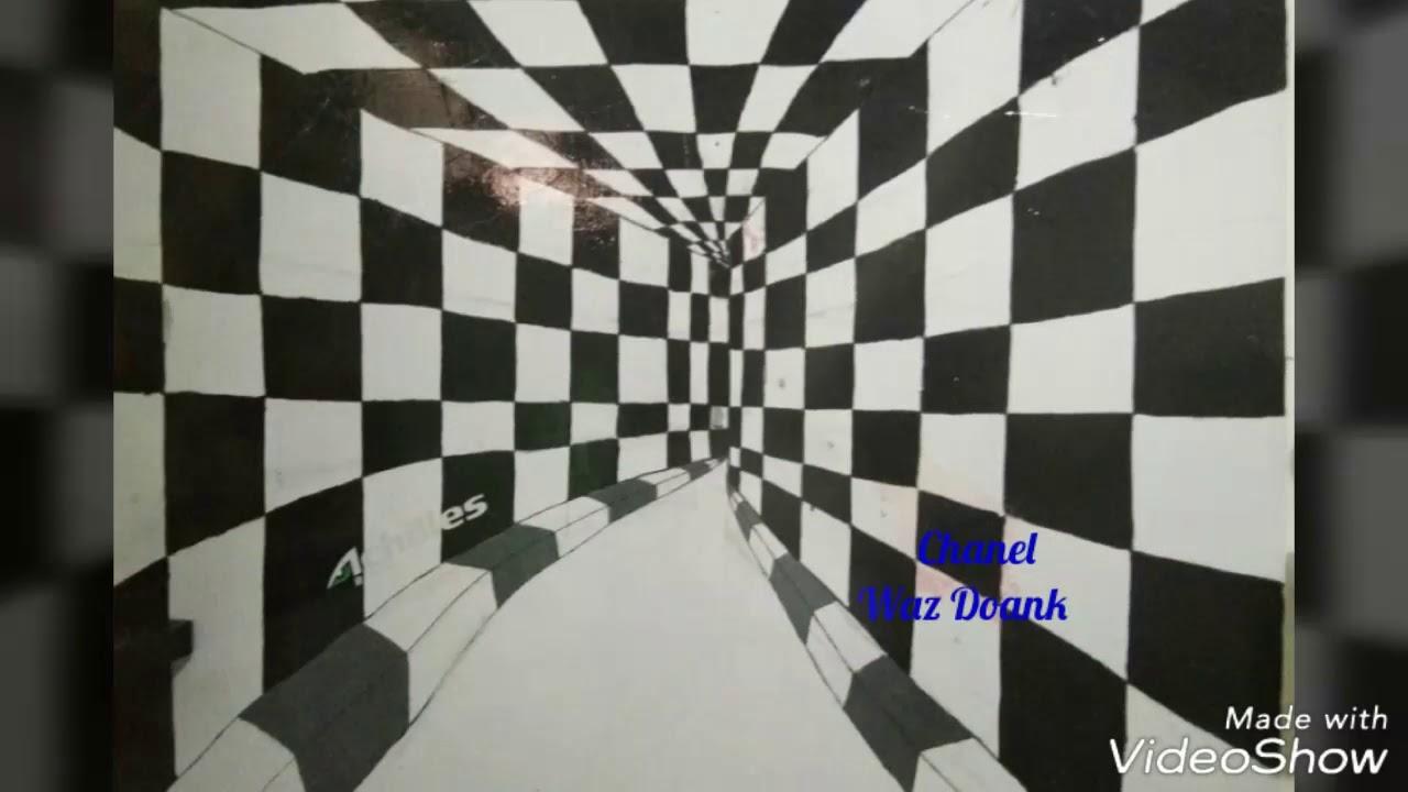 Tutorial Bikin Gmbar 3d Pada Dinding Youtube