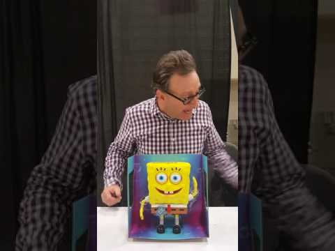Tom Kenny talks about our upcoming Sponge Bob talking figure giveaway