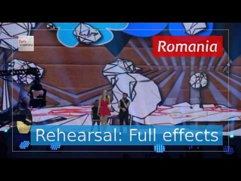Ilinca ft. Alex Florea - Yodel It! - Romania - Second Rehearsal - Eurovision Song Contest 2017 (4K)