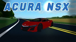 ACURA NSX! Ultimate Driving! (Roblox)