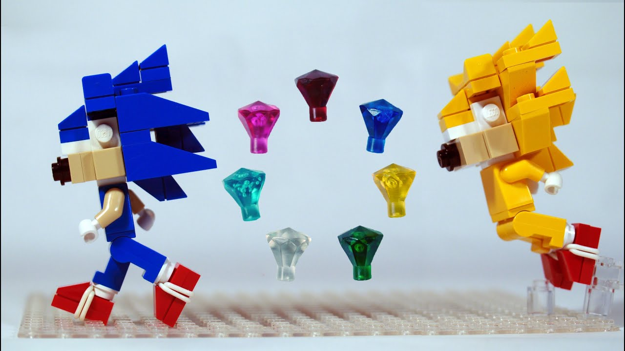 How to Build LEGO Soni... Super Sonic And Super Shadow And Super Silver Toys