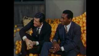 "The Orange Scene from ""Casanova from Canarsie"" Robert Culp and Bill Cosby"