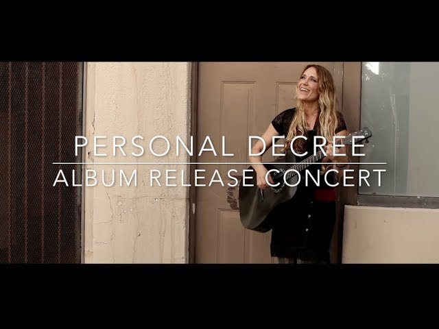 """Personal Decree"" Album Release Concert- Rock Church San Diego"