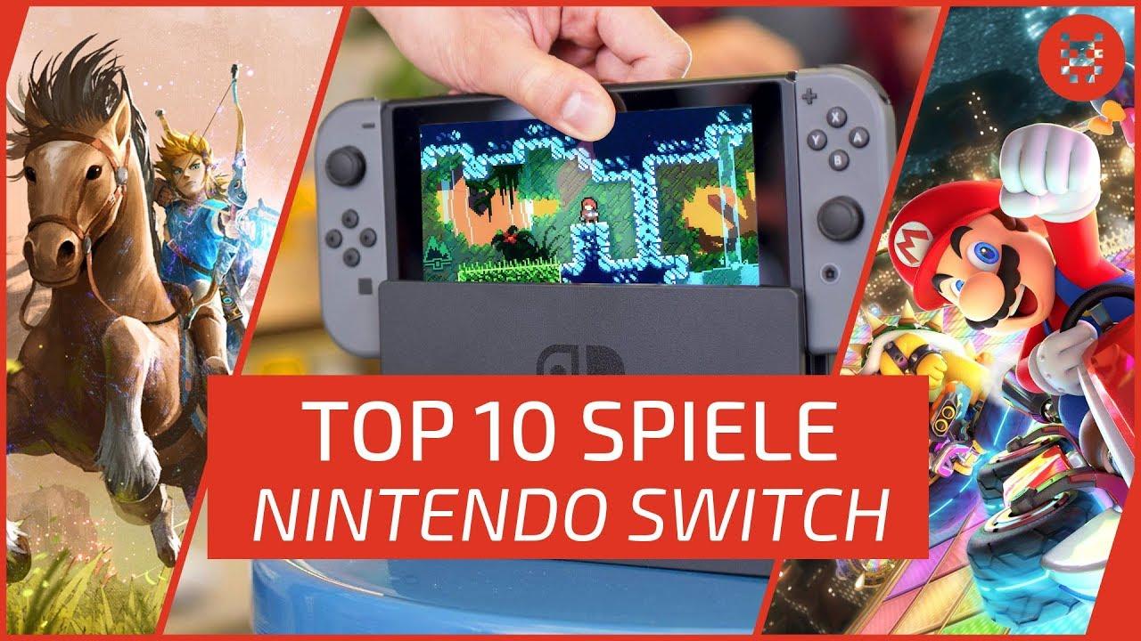 Top 10 Nintendo Switch Games Die Besten Spiele Youtube