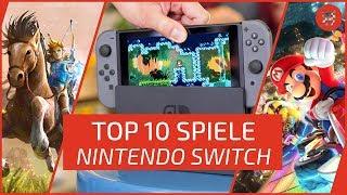 TOP 10 NINTENDO SWITCH Games - Die besten Spiele!