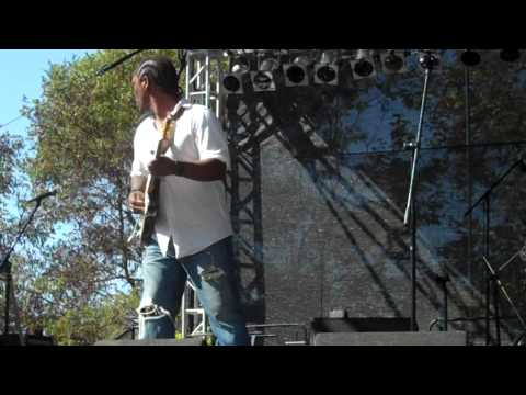 Anthony David performs Cold Turkey live at the BB Jazz Festival 2012