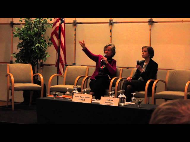 WITA TPP Series: What's at Stake for Agriculture-Amb. Darci Vetter Q&A pt. 3  2/11/16