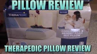 cooling gel pillow review memory foam