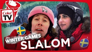 WINTER GAMES! | DOWNHILL RACE!! | #CokeTVSverige