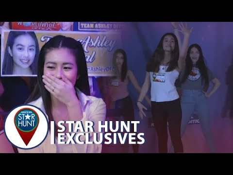 Pinakita ni Ashley ang kanyang dancing skills sa Star Hunt Auditions  Star Hunt Exclusives