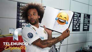Los divertidos autorretratos de la final de champions | uefa champions league | telemundo deportes