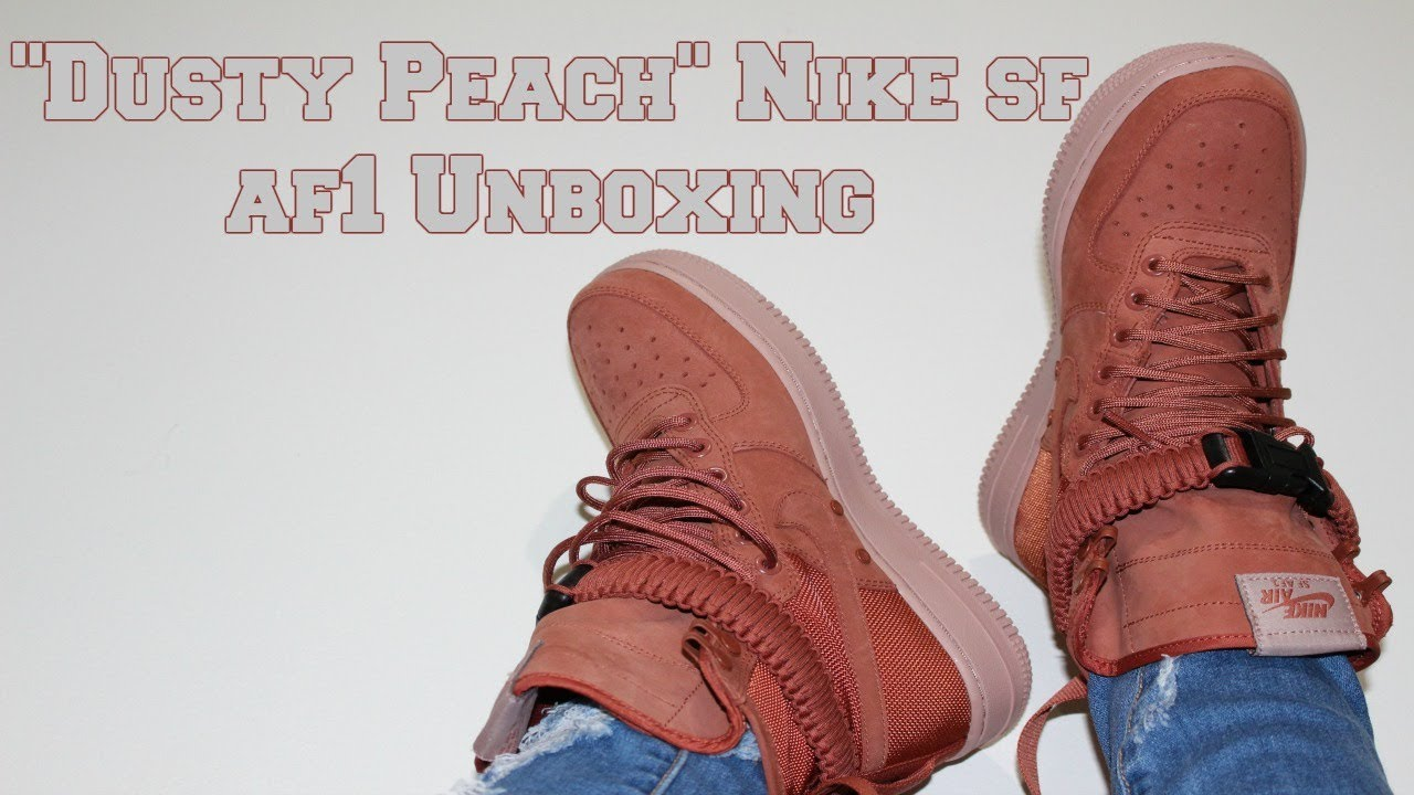 finest selection 08d84 2df4c Unboxing Dusty Peach SF AF1 *Women's Edition*