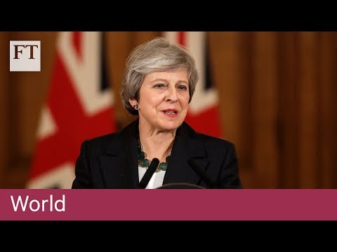 Theresa May defends Brexit deal in parliament