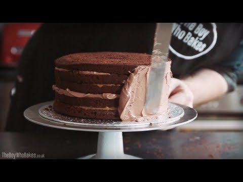 How To Crumb Coat a Cake - The Boy Who Bakes