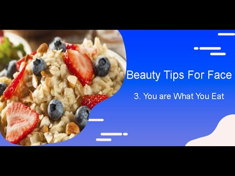 Qvid Vlogs Beauty Tips For Face3 You Are What You Eat
