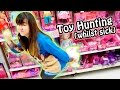 TOY HUNTING with Jenny (whilst sick) - Barbie, Blind Bags, MLP Equestria Girls and MORE!