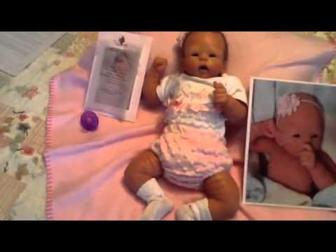 Box Opening Baby Sophie With Soft Silicone Youtube