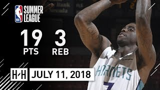 Dwayne Bacon Full Highlights vs Warriors (2018.07.11) NBA Summer League - 19 Pts, 3 Reb