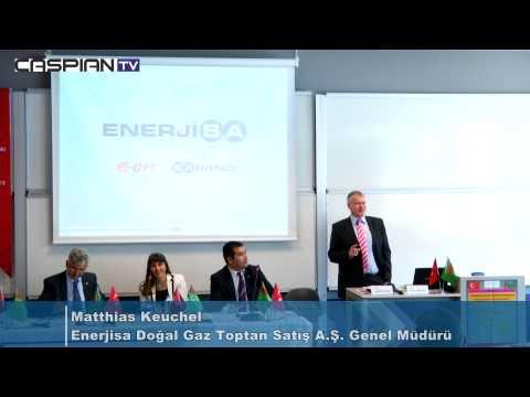 """CaspianTV """"Türkmenistan Enerji Kaynaklarının Global Enerji Pazarına Etkisi"""" Paneli 27.06.2013"""
