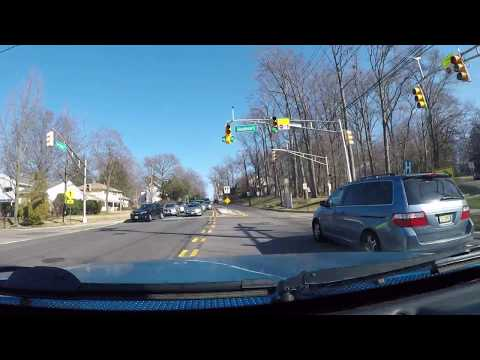 Driving Aound New Milford, NJ 2018 - Part 1