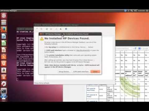 installe hplip ubuntu 13.04