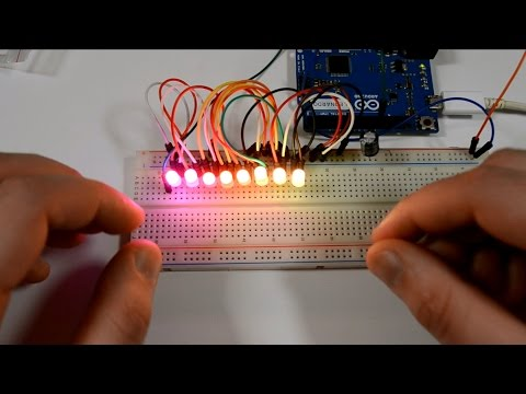 Diody LED RGB | Inteligentne diody WS2812 | #65 [Arduino]