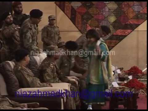 Malala yousafzai historical speech on the front of Chief of Army Pakistan
