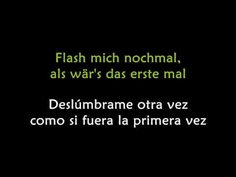 Mark Forster - Flash mich (con subtítulos en español)