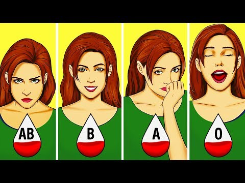 VIDEO: What Your Blood Type Says About Your Personality