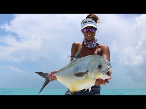 Sight Casting & Catching Permit In The Marquesas Keys !! (My First Permit)