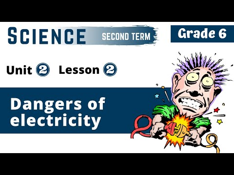 Science | Grade 6 | Unit 2 Lesson 2 - Dangers of electricity and how to deal with it
