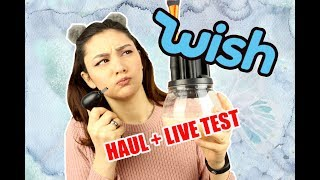 WISH HAUL + LIVE TEST | Deutsch