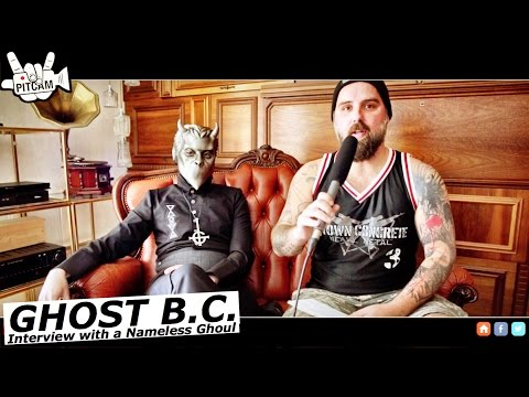 GHOST - Interview with a Nameless Ghoul @ Michelberger Hotel | 2015  | www.pitcam.tv