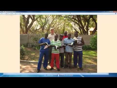 Botswana Bible Shipment - Douglas Hammett