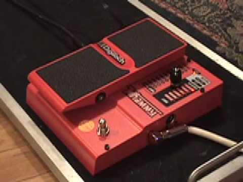 The WORST guitar effects pedal Demo EVER ! Digitech Whammy V4 Gibson SG  Fender 75 amp