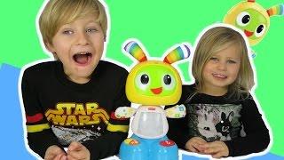 Бити іграшку робот БО Фішер-Прайс іграшка 2015 року мельтешишь бити Бо EpicToyChannel