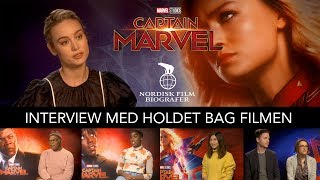 Captain Marvel interview