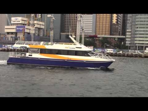 PAUL HODGE: SYDNEY HARBOR FERRY EXPLORATION, 2013 SOLO AROUND WORLD IN 24 DAYS, Ch 101