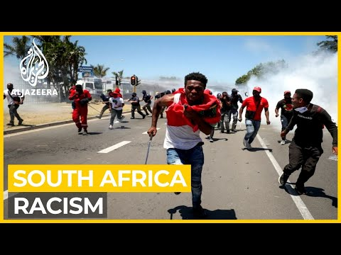 South Africa: Protesters clash outside high school over racism