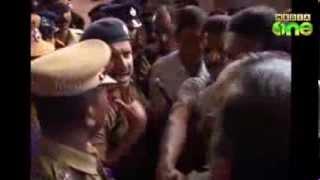 Fight In Kerala Police