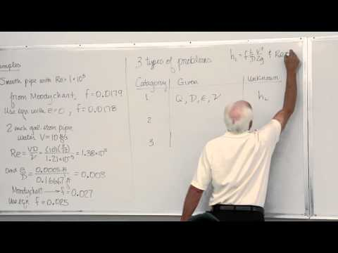 Fluid Mechanics: Minor Losses in Pipe Flow (18 of 18)
