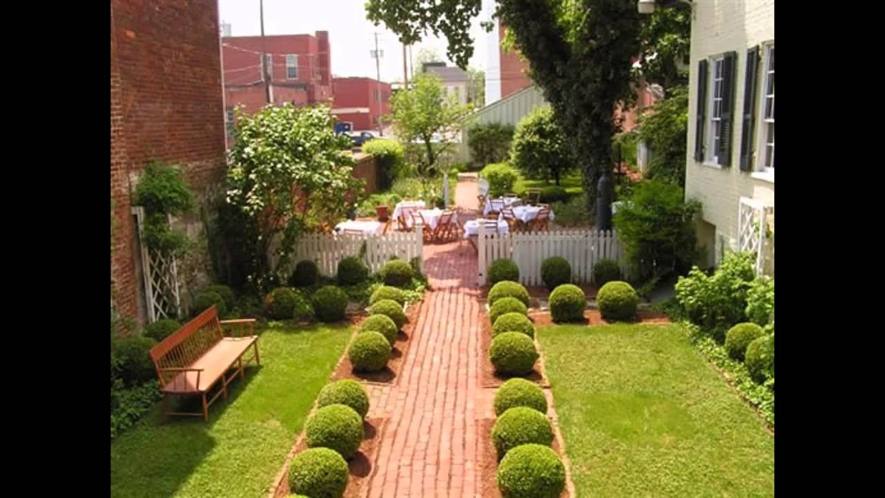 Small garden inspiration youtube for Small garden inspiration