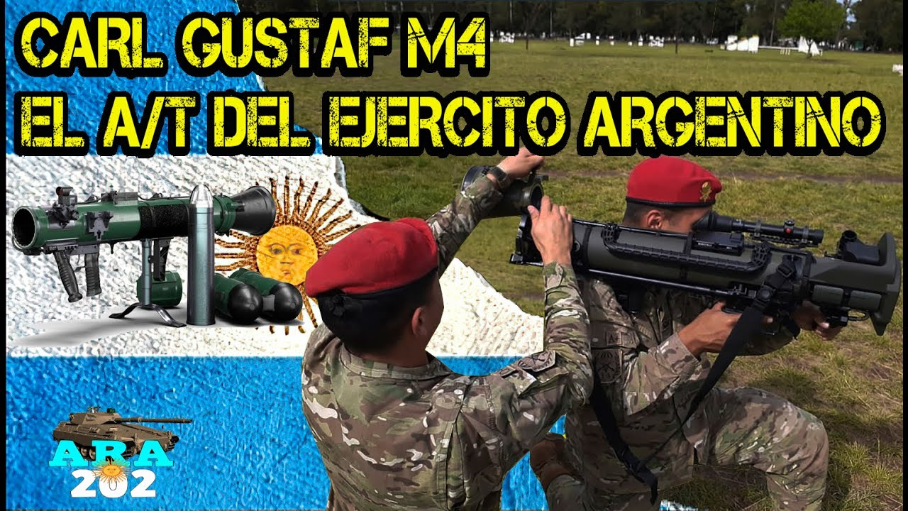 EL PUÑO del Ejercito Argentino: CARL GUSTAF M4.