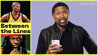 Jalen Rose Explains Jalen Rose Lyric References | Between The Lines