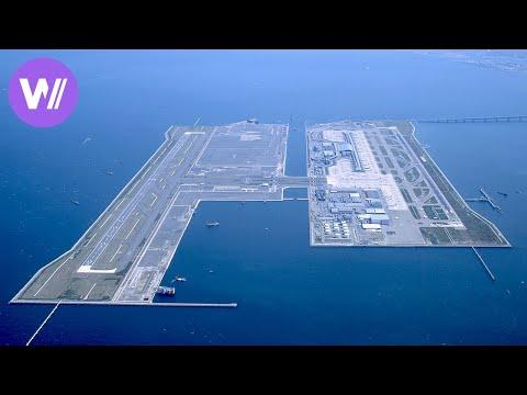 Kansai International Airport: the world's first airport built on the sea | Flights of Fancy 1