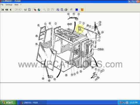 linde lindos 2011 full forklift truck spare parts. Black Bedroom Furniture Sets. Home Design Ideas