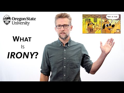 """""""What is Irony?"""": A Literary Guide for English Students and Teachers"""